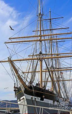 Art Print featuring the photograph Balclutha by Kate Brown