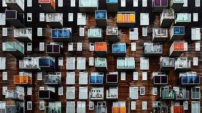 Balconies Photograph - Balconia by