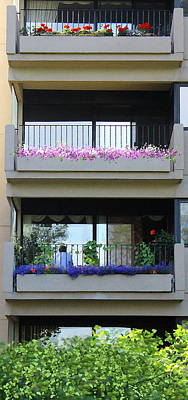 Photograph - Balconies 4 by Kume Bryant