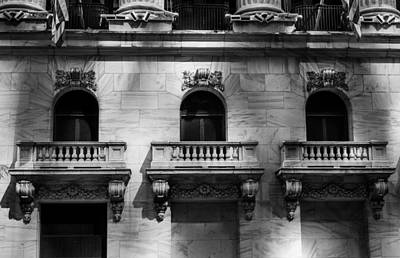 Photograph - Balconies At Nyse  by Jose Maciel