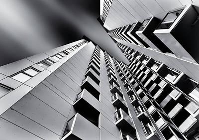 New Zealand Photograph - Balconies by Gerard Jonkman