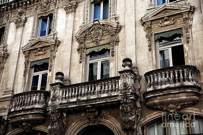 Photograph - Balconies In Avignon by John Rizzuto