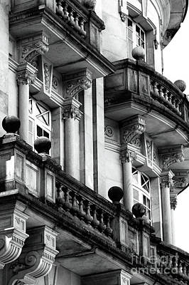 Photograph - Balconies In Bogota by John Rizzuto