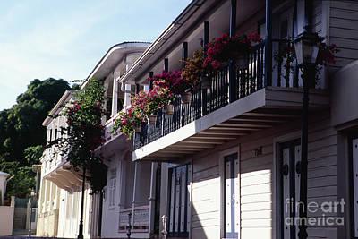 San German Photograph - Balconies Of San German by George Oze