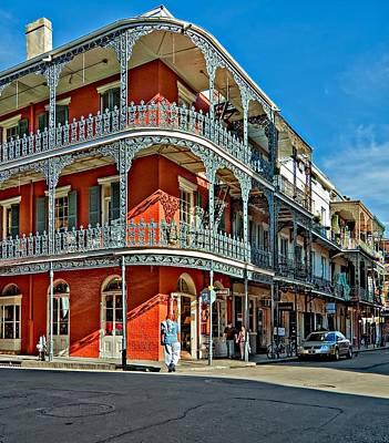 Street Photograph - Balconies by Steve Harrington