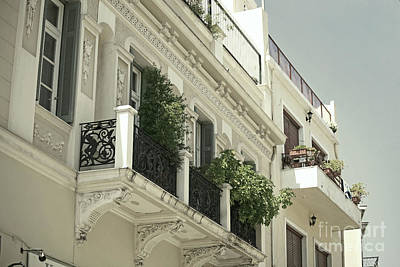 Plaka Photograph - Balcony by Aiolos Greek Collections