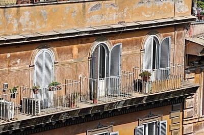 Photograph - Balcony by Bill Howard