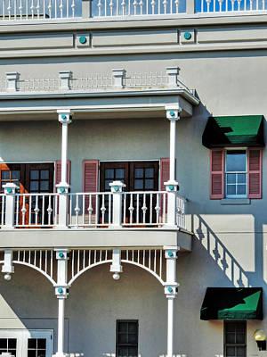 Photograph - Balcony by Cathy Jourdan