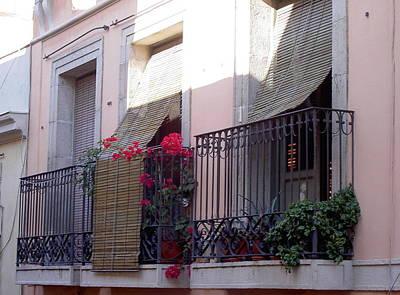 Nirvana - Balcony in Barcelona by Cecilia Uneland