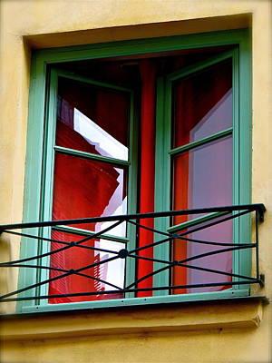 Balcony In Red Original