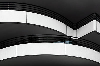 Balconies Photograph - Balcony Lines by Gilbert Claes