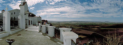 Balcony Of A Building, Parador, Arcos Art Print by Panoramic Images