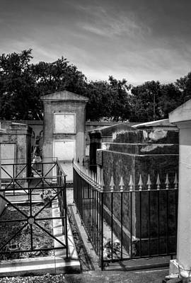 Photograph - Balcony Of The Dead In Black And White by Chrystal Mimbs