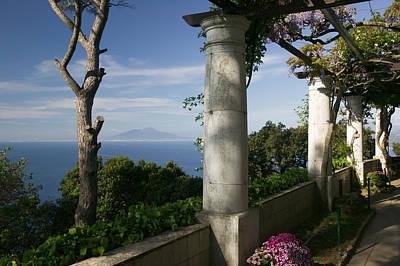 Balcony Overlooking The Sea, Villa San Art Print