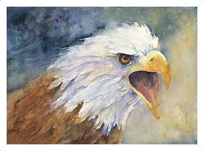 Painting - Bald Eagle by Cynthia Roudebush