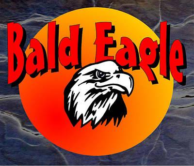 Bald Eagle Art Print by Daryl Macintyre
