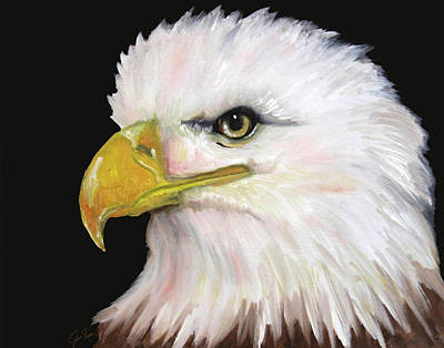 Painting - Bald Eagle  by Jennifer Page