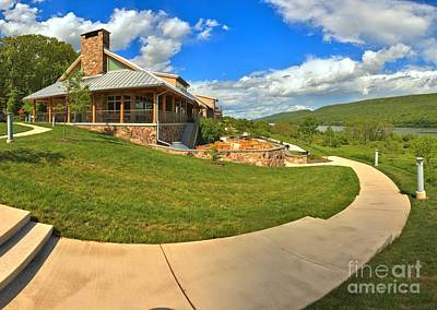Photograph - Bald Eagle State Park Lodge by Adam Jewell