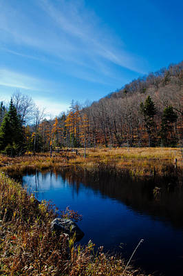 Photograph - Bald Mountain Pond In Late Autumn by David Patterson