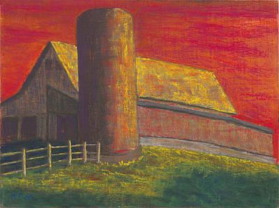 Balducci Sunset Art Print by Garry McMichael