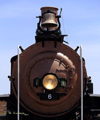 Photograph - Baldwin Locomotive Engine 6 by R B Harper