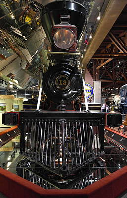 Photograph - Virginia And Truckee No 13 Baldwin Locomotive Works Philadelphia Engine 13 by Michele Myers