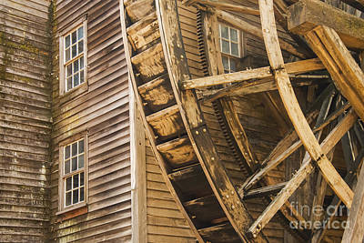 Bale Grist Mill Photograph - Bale Grist Mill by Bob Phillips