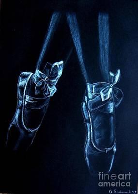 Painting - Balerinas by Anna Androsovski