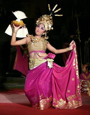 Bali Dancer Art Print by Jack Edson Adams