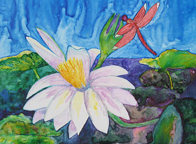 Painting - Bali Dragonfly by Patricia Beebe
