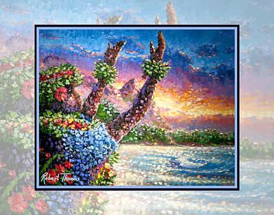 Robert Thomas Painting - Bali Hai by Robert Thomas