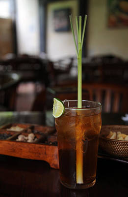 Photograph - Bali Iced Tea by Mark Sullivan