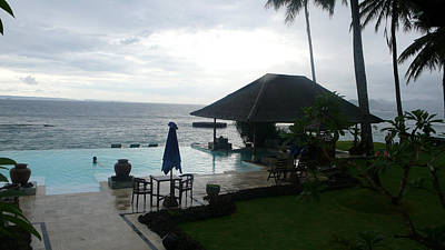 Photograph - Bali Pool By The Ocean by Jack Edson Adams