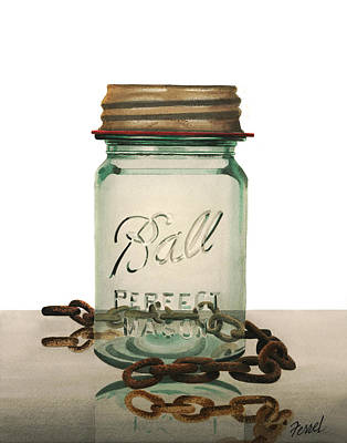Painting - Ball And Chain by Ferrel Cordle