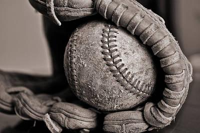 Photograph - Ball And Glove by Bill Owen