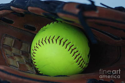 Photograph - Ball And Glove by Mark McReynolds