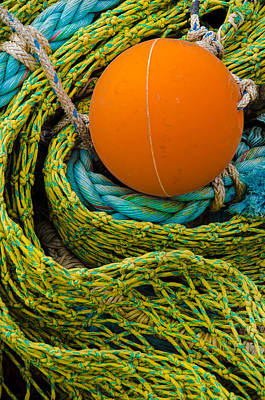 Photograph - Ball And Nets by James Hammond