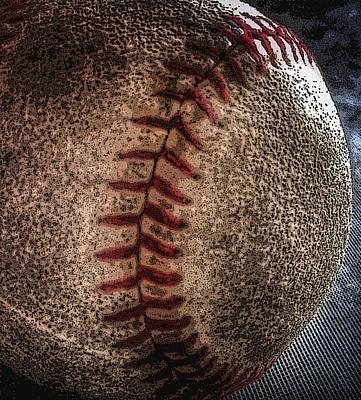 Photograph - Baseball by Bill Owen