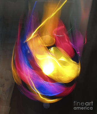 Ball Of Light Art Print