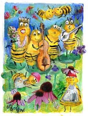 Ballad Of The Bees Original by ClareMaria Vrindaji Bowman