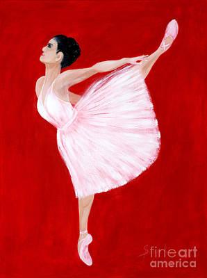 Painting - Ballerina 2. Inspirations Collection by Oksana Semenchenko