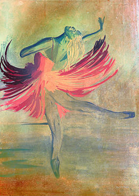 Soaring Painting - Ballerina 2 - The Feeling Of Dancing by Angela A Stanton