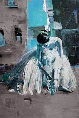 Painting - Ballerina 21 by Mahnoor Shah