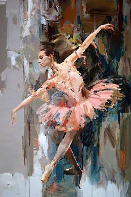 Painting - Ballerina 29 by Mahnoor Shah
