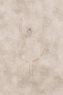 Photograph - Ballerina As Old Drawing by Jouko Lehto