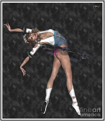 Ballerina B1 Art Print by Pemaro