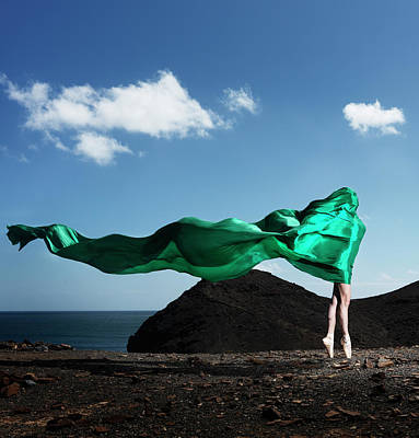 Photograph - Ballerina In Lace by Henrik Sorensen