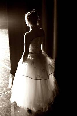 Photograph - Ballerina In The Wings by Robin Mahboeb