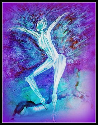 Painting - Ballerina by Kelly Dallas