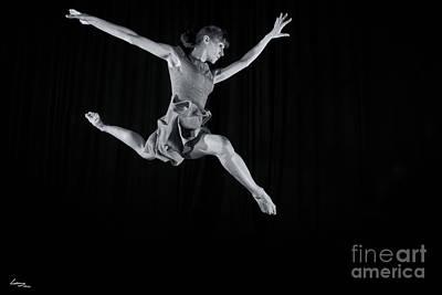 Ballerina Photograph - Ballerina Leaping. by T Lang